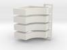 Parkhecke quadratisch einfach ausgerundet (Buchsba 3d printed