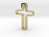 Infinity Cross Pendant 3d printed