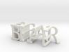 3dWordFlip: BEAR/BULL 3d printed