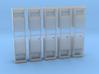 Altkleidercontainer 10er Set 1:100 3d printed