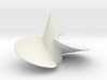 Single left hand ship propeller f. Bismarck/Tirpi 3d printed