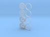 Holeshot 1/25 wheel set 3d printed