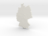 Germany Christmas Ornament 3d printed