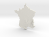 France Christmas Ornament 3d printed