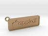 Apple II Badge Pendant 3d printed