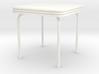 'Beginner Basic' Table 1:12 Dollhouse 3d printed