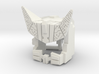 Cybertron Megatron Face & Helmet, Large 3d printed