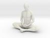 Male yoga pose 012 3d printed