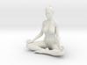 Female yoga pose 011 3d printed