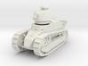 PV06D Renault FT Char Mitr (Girod turret)(1/43) 3d printed