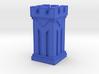 Plastic Rook 3d printed