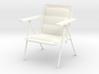 'Patio Paradise' Lawn Chair 1:12 Dollhouse 3d printed