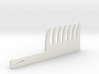 Large Gap Comb with Handle 3d printed