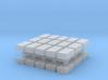 1/87 Scale Shot Blocks 3d printed