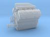 AJPE 1/25 Hemi single plug w/turbo intake 3d printed