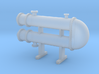 HO Scale Heat Exchanger #3 3d printed