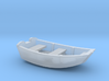 Dinghy Boat N Scale 3d printed