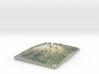 "Mount Shasta 8.5""x11"" 3d printed"