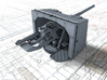"1/192 4.7""/45 QF MK IX CPXVII Guns Ports Closed x4 3d printed 3d render showing product detail"