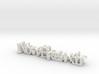 3dWordFlip: NowBreakIt/IterateIterate 3d printed