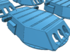 1/426 New Mexico class Battleship Turrets 3d printed