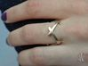 CrssWave Thin Ring 3d printed