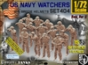 1/72 USN Watchers Set404 3d printed