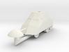 1/72 Tortuga armored car 3d printed