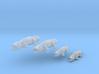 Krokodile - 1:160 (N scale) 3d printed