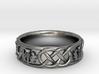 Scottish Thistle Ring 3d printed