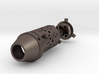 Micro jet engine combustion chamber 3d printed