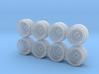 Rays Volk Mesh Hot Wheels Rims 3d printed