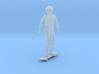 Skateboarding Dan Standing Upright 3d printed