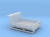 1/64th DOT, MOW low front 8' wide dump truck body 3d printed