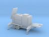 1/87 Scale Patriot Missile Radar Trailer 3d printed