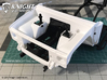 SR50007 SR5 Engine Bay 3d printed Parts shown in white for demonstration purposes (SCX10ii chassis sold separately).