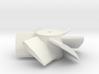 six blade micro edf turbine  3d printed