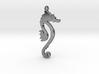 Seahorse pendant - Hyppocampe 3d printed