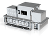 NSWGR X200 Rail Tractor Kit HO Scale 3d printed