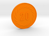 20 Coin 3d printed