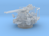 Twin Bofors 1/144 3d printed