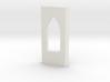 shkr028 - Teil 28 Seitenwand mit Fensteröffnung Vo 3d printed