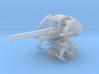 1/180 USN 5 inch 25 Gun Mount Mk40 3d printed