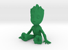 1/12 Baby Groot Cell Phone Base/Stand 3d printed
