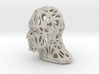 Male Voronoi Head (Sandstone) 3d printed Male Voronoi Head (Sandstone)