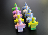 USB Robot's Army 3d printed Our pretty backs
