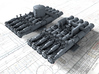 "1/350 21"" Pentad Torpedo Tubes with Spray Shields 3d printed 1/350 21"" Pentad Torpedo Tubes with Spray Shields"