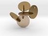 Circles_Pendant_Steel 3d printed