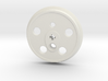 XXL Disc Driver - Small Counterweight, No Groove 3d printed