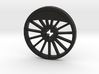 ML Thin Wheel With Counterweight - Blind 3d printed